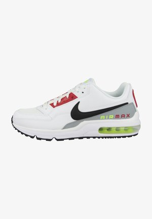 AIR MAX LTD  - Sneakers laag - white-black-light smoke grey-barely volt-university red