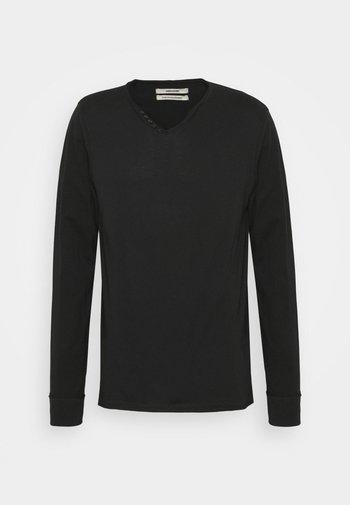 MONASTIR  - T-shirt à manches longues - noir