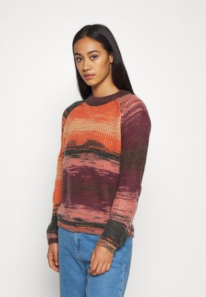 NMLEED O NECK - Jumper - crabapple