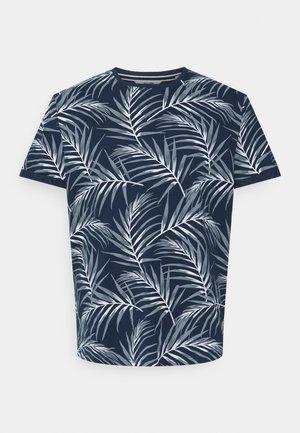 ONSIASON SLIM TEE PLUS - Print T-shirt - dress blues