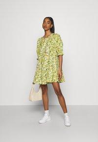 Monki - MILLIE DRESS - Day dress - grassy - 1