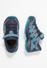 Salomon - XA PRO 3D CSWP - Hiking shoes - navy blazer/mallard blue/hawaiian surf - 0