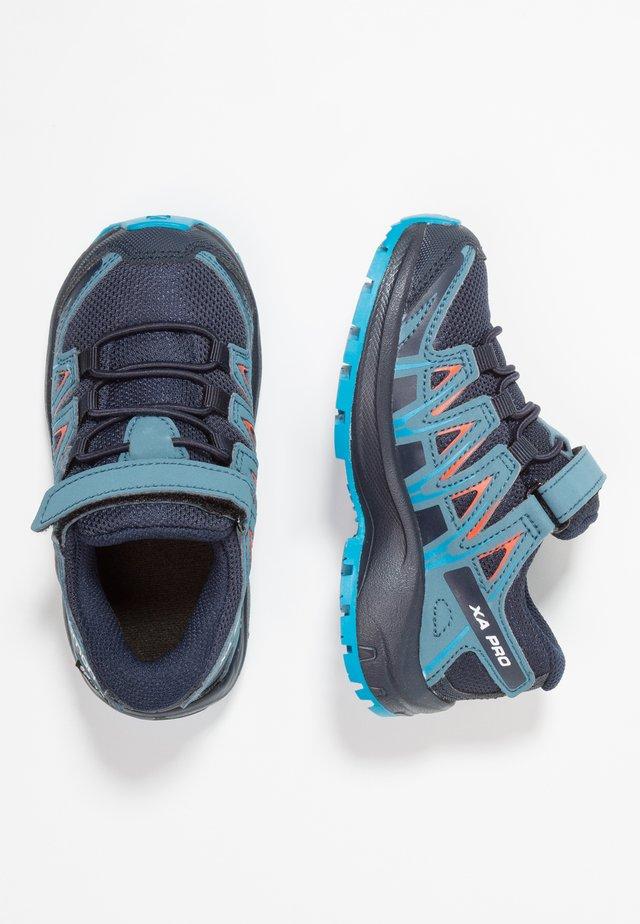XA PRO 3D CSWP - Hiking shoes - navy blazer/mallard blue/hawaiian surf