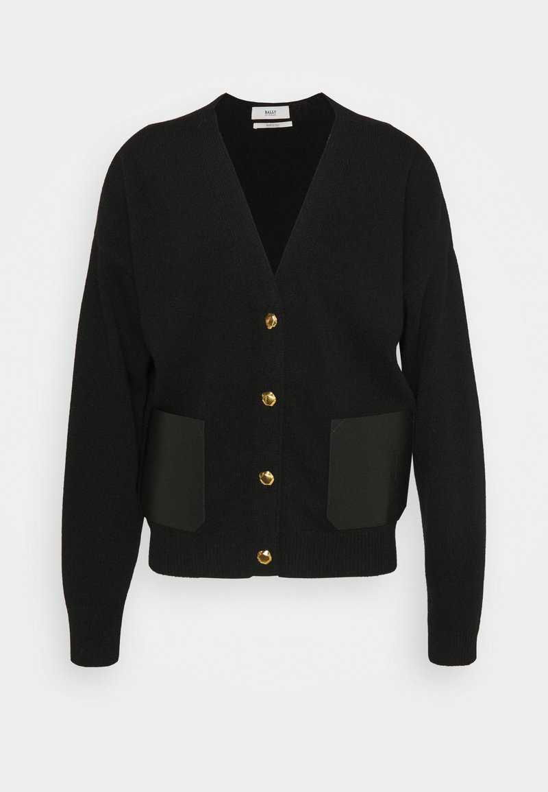 Bally - PATCH CARDIGAN - Strikjakke /Cardigans - black
