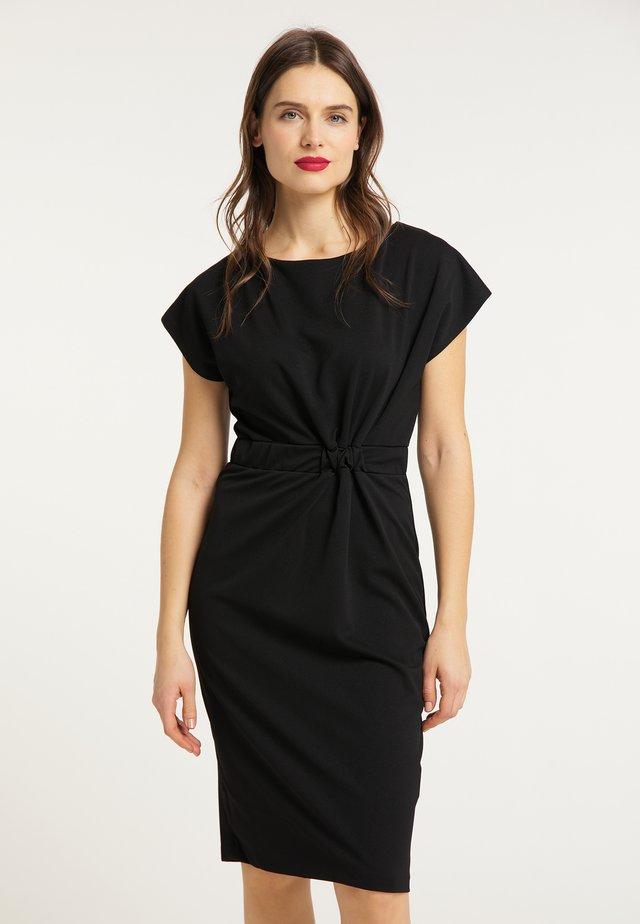 KLEID - Pouzdrové šaty - schwarz