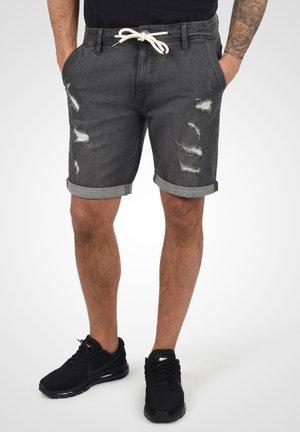 DALLIAN - Denim shorts - denim dark grey