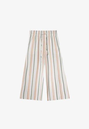 MIT PRINT  - Trousers - light pink