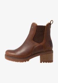 Panama Jack - PIA - Kotníkové boty na platformě - grass/bark - 1