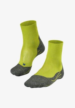 TK2 SHORT COOL - Chaussettes de sport - lime