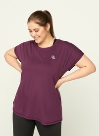 Active by Zizzi - Print T-shirt - purple - 0