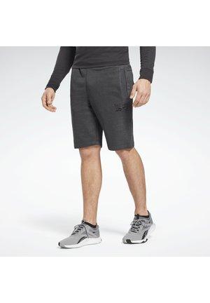 TRAINING ESSENTIALS MÉLANGE SHORTS - Sports shorts - black