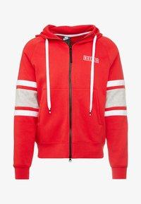 Nike Sportswear - HOODIE - Sudadera con cremallera - university red/white/black - 4