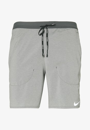 Sportovní kraťasy - iron grey/reflective silver