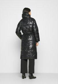 GAP - LONG PUFFER COAT - Winter coat - true black - 3