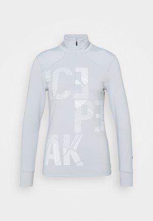 BONITA - Fleece jumper - silver
