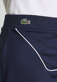 Lacoste Sport - CLASSIC SKIRT - Rokken - navy blue/white - 4