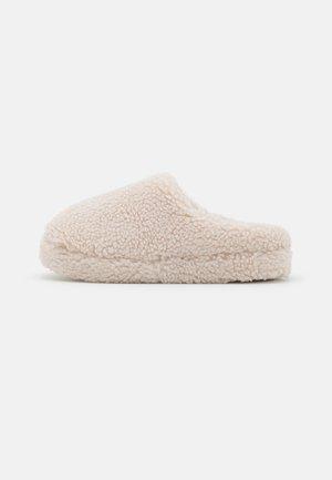 Slippers - grey melange