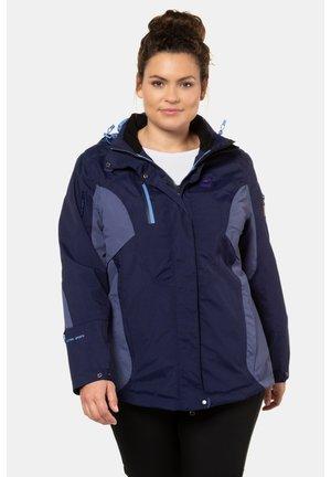 Soft shell jacket - bleu foncé