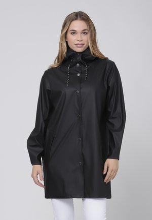 Waterproof jacket - black stone