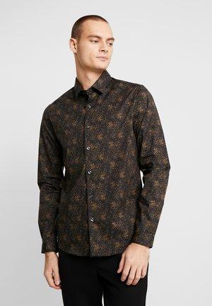 TAUPE TEXTURE - Overhemd - black