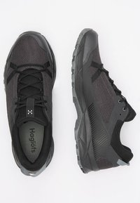 Haglöfs - TRAIL FUSE - Hiking shoes - slate/true black - 2