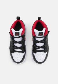Jordan - 1 MID UNISEX - Basketbalové boty - white/gym red/black - 3