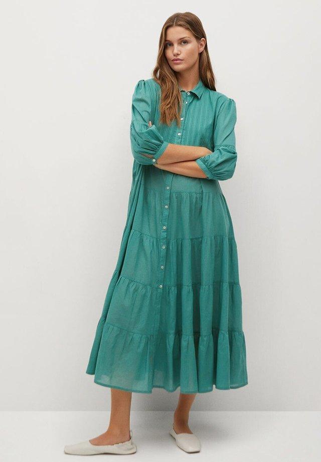 LOVER-A - Shirt dress - smaragdgrün