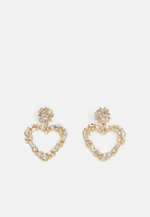 PCHEARTIE EARRINGS - Orecchini - gold-coloured