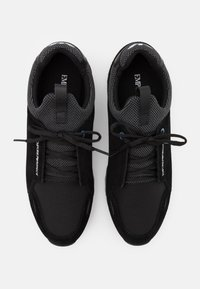 Emporio Armani - Sneakers laag - black/grey - 3