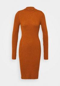 Even&Odd - Pouzdrové šaty - brown - 6