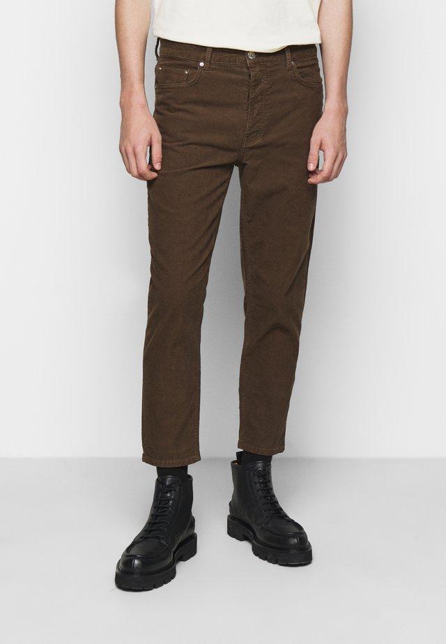 BEN  - Kalhoty - teak