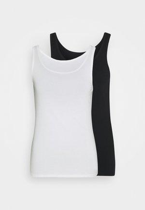 2 PACK - Tílko - white/black