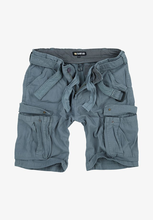 RIVFYNN - Shorts - grau