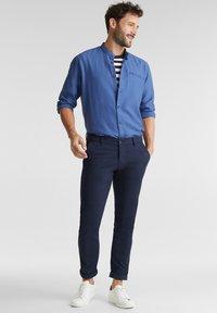 Esprit - WINTERWAFFL - Shirt - grey blue - 1
