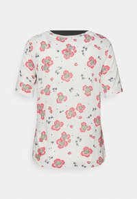 Marks & Spencer London - FLORAL TEE - Print T-shirt - offwhite - 1