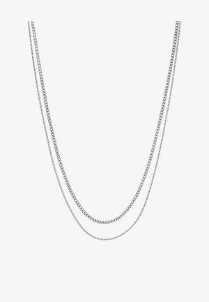 MODULE NECKLACE - Collar - silver-coloured