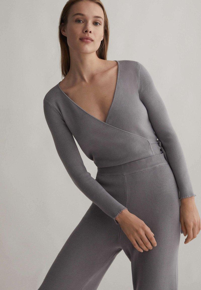 OYSHO - Cardigan - grey