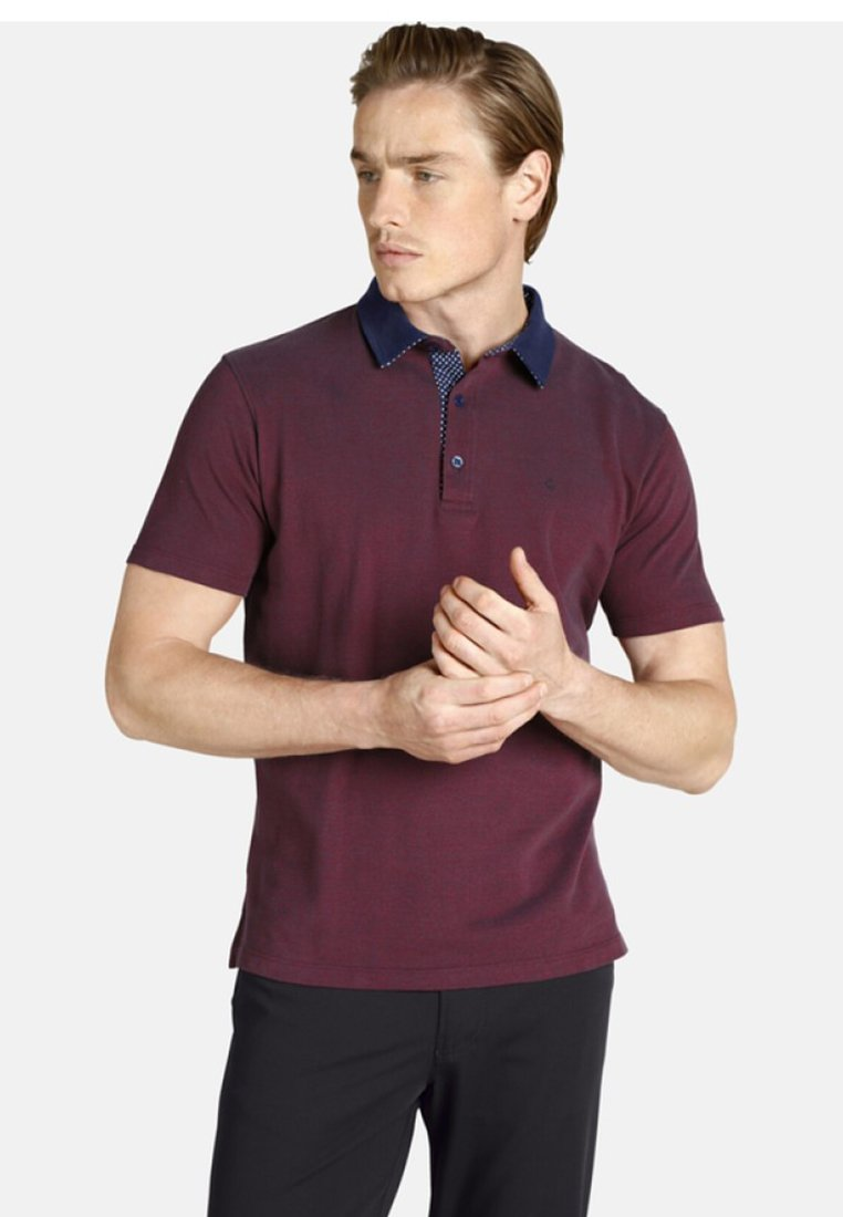 Charles Colby - EARL FANCES - Polo shirt - dark red
