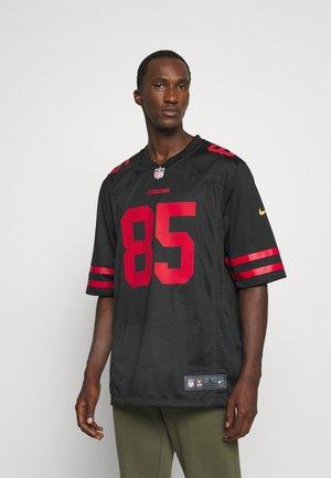 NFL SAN FRANCISCO 49ERS GEORGE KITTLE GAME ALTERNATE - Club wear - black