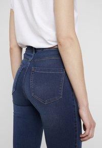 ONLY - ONLROYAL - Jeansy Skinny Fit - dark blue denim - 4