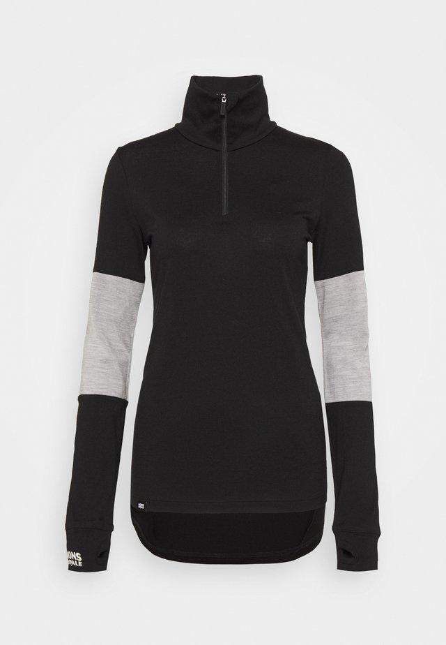 CORNICE  - Undershirt - black/grey marl