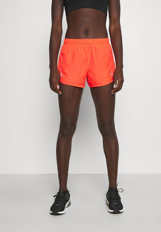 TEMPO RACE SHORT - Pantaloncini sportivi - bright crimson/silver