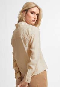 comma casual identity - Button-down blouse - off-white - 2