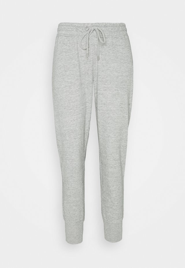 YOUR FAVOURITE TRACKPANT - Verryttelyhousut - grey marle
