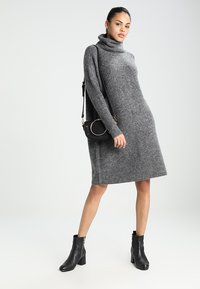 ONLY - ONLJANA COWLNECK DRESS  - Jumper dress -  grey - 1
