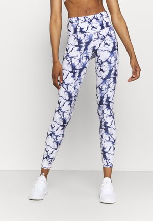 OH MY SQUAT LEGGING MARBLE - Leggings - snow white