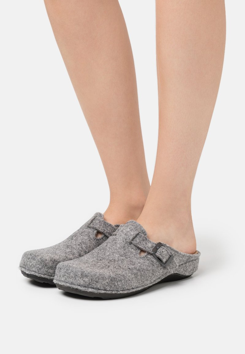 s.Oliver - Pantoffels - light grey