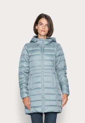 LIGHT WEIGHT PUFFER COAT - Classic coat - grey mint