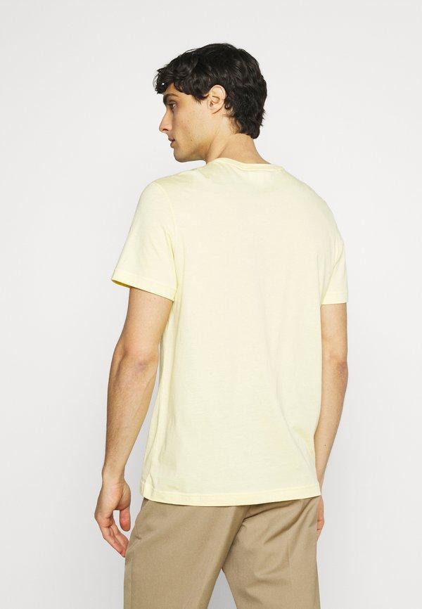 Lacoste T-shirt basic - zabaglione/jasnożÓłty Odzież Męska TBRM
