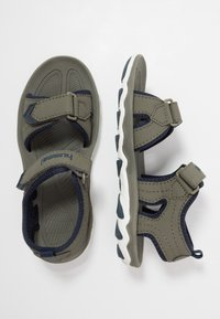 Hummel - SPORT - Walking sandals - deep lichen green - 0